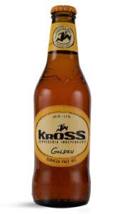 Cerveza Chilena Kross Golden Aale  330cc
