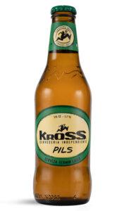 Cerveza Chilena Kross Pils 24 Botellas 330cc