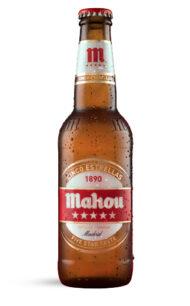 Cerveza España Mahou Cinco Estrellas  330cc