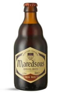 Cerveza Belga Maredsous Brune 24 Botellas 330cc