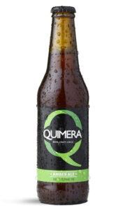 Cerveza Chilena Quimera Amber ale 12 Botellas 330cc