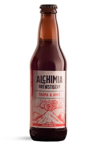 Cerveza Chilena Alchimia Magma & Hops  330cc
