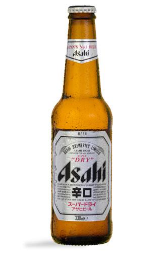 Cerveza Japonesa Asahi Lager  330cc