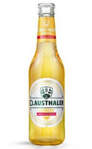 Cerveza Alemana Clausthaler sin alcohol limón  330cc