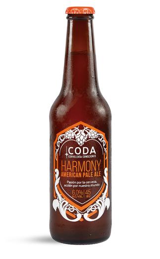 Cerveza Chilena Coda Harmony  330cc