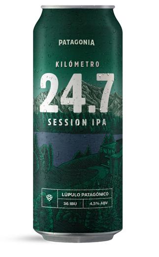 Cerveza Argentina KM 24.7 Session IPA   475cc