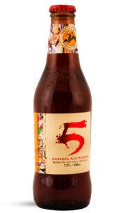 Cerveza Chilena Kross 5 -  330cc