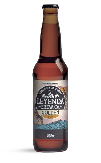 Cerveza Chilena Leyenda Golden Ale  330cc