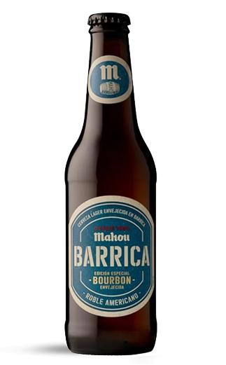 Cerveza España Mahou Barrica Bourbon  330cc