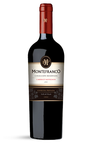 Vino Tinto Montefranco colección reservada cabernet 6 botellas
