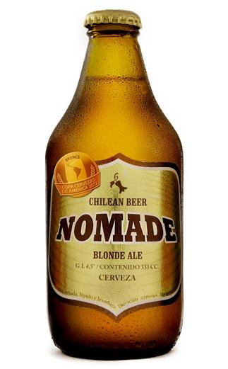 Cerveza Chilena Nomade Blonde  330cc