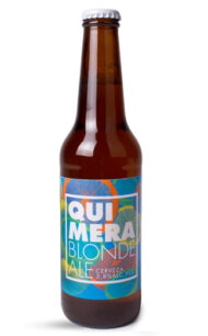 Cerveza Chilena Quimera Blonde  330cc