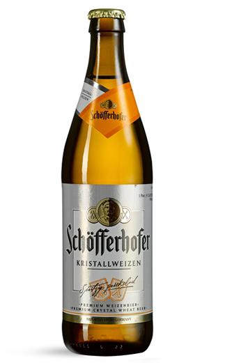 Cerveza Alemana Schofferhofer Kristallweizen   500cc