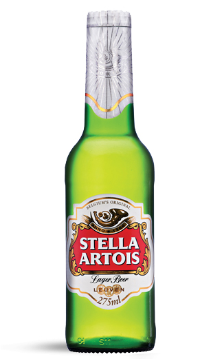 Cerveza Belga Stella Artois Lager  330cc