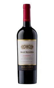 Vino Errazuris Max Reserva Carmenere $10.065