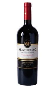 Vino Tinto Montefranco colección reservada cabernet $6.990